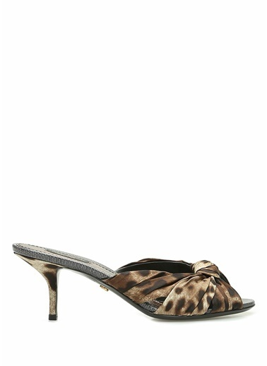 Dolce&Gabbana Terlik Leopar